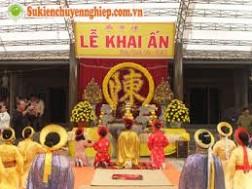 Chương trình Lễ Hội Khai Ấn Đền Trần – Phủ Giầy 1 Ngày