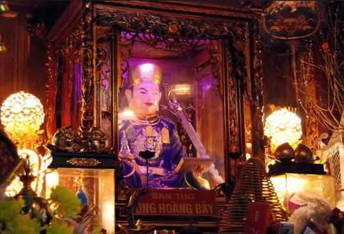 Lễ Hội Đền Ông Hoàng Bảy, Đền Ông Hoàng Bảy Bảo Hà